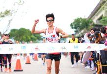 跑步已有數年資歷,現職是文德國小教師的蔡昀軒,不久前才在臺北渣打公益馬拉松以2小時58分18秒(大會時間)奪下女子總一。外表看似有點拘謹的她,在聊開之後其實是個非常親切的人。