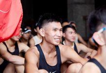 跑步當下的徐君宇,總是可以露出滿足的笑容
