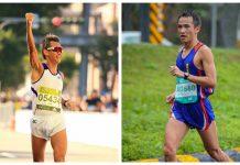106年全運會馬拉松舉辦在宜蘭,開跑時的天氣很溫和,強風卻意外地強勁,致使跑者們排成一個列子前進,領跑前方對抗風阻的是桃園市選手陳智湧