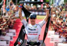 紐西蘭的鐵三傳奇選手 Cameron Brown 今年46 歲了還在比賽,仍然在職業等級。