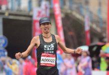 今年不只各國豪強出賽,台灣真男人張嘉哲也將再次挑戰琵琶湖馬拉松尋求東奧的機會