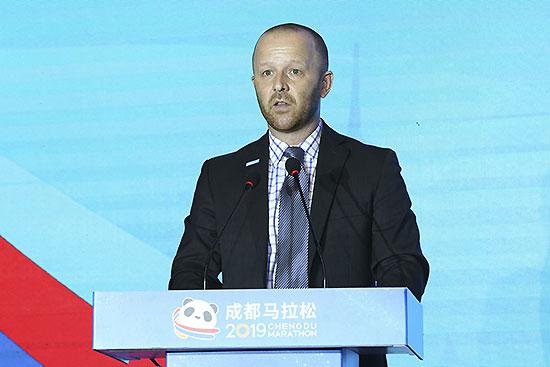 雅培世界馬拉松大滿貫聯盟主席Tim Hadzima