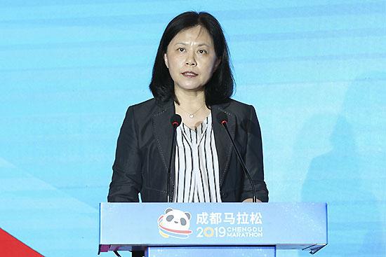 中國田徑協會副主席王楠