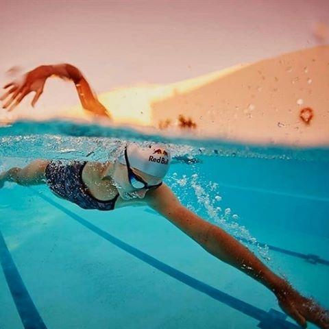 抓水的目的在於提高游泳效率。圖片來源。