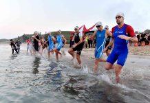 2019 IRONMAN Taiwan適逢5周年,重回到美麗的嵵裡沙灘開賽。
