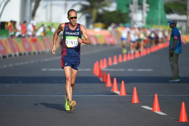 50 公里競走(公路賽)世界紀錄保持者,Yohann DINIZ。圖片來源。